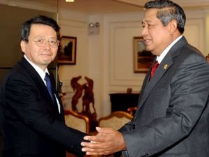 SBY Menerima CEO Mitsubishi Corporation
