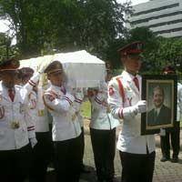 Jenazah Budi Rochadi Tiba di Bank Indonesia