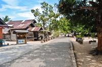 Suasana Desa Pulau Seliu, Kecamatan Membalong.