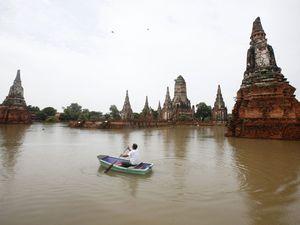 Situs Warisan Dunia Terendam Banjir
