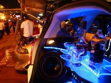 63 Mobil Modifikasi Berebut \King\ di Palembang