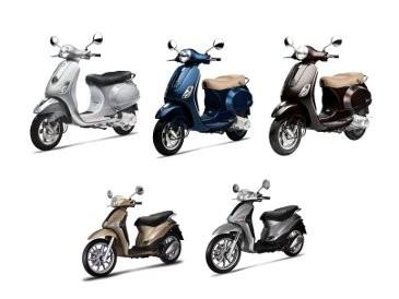 5 Warna Baru Motor Piaggio dan Vespa