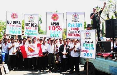 Bupati Sukoharjo Dukung Perangkat Desa Surati SBY Soal RUU Desa