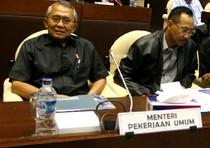 Komisi V-Menteri PU Bahas Jembatan Kukar