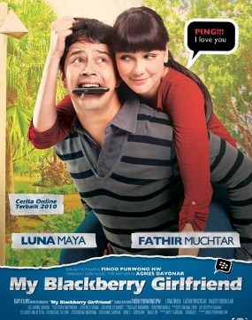 \My Blackberry Girlfriend\, Cinta Berawal dari Blackberry Bekas