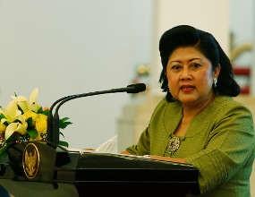 Presiden SBY Temani Lagi Istri di RSPAD
