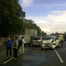 Sopir Bus Penyebab Kecelakaan Beruntun di Jagorawi Jadi Tersangka