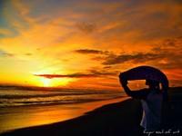 Menerka Siluet pantai Goa Cemara
