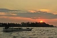 Senja di Karimun Jawa