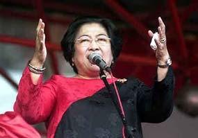 Klaim Sudah Kantongi Nama 26 Capres 2014, Megawati Nilai SBY Reaktif