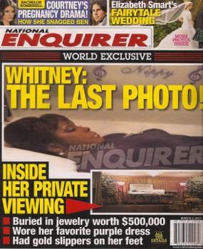 Whitney Houston Dikubur dengan Memakai Perhiasan Rp 4,5 M