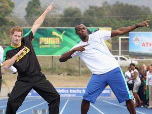Ketika Pangeran Harry Kalahkan Usain Bolt