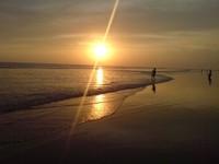 Salah satu momen sunset (ekaanakbengkulu.blogspot.com)