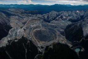 Tambang Emas Freeport di Papua Terbesar di Dunia