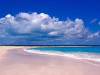 Cantiknya pantai Pink Sands (art.co.uk)