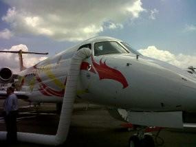 Jet Pribadi Uzur Tak Bisa Masuk Indonesia