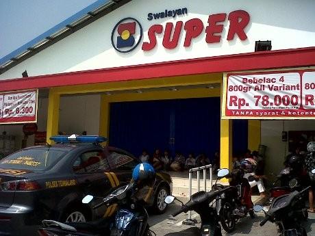 Pencuri Bobol Swalayan di Semarang, Gondol Rp 100 Juta