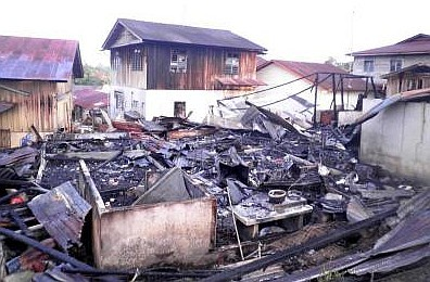 Selamat dari Kebakaran Gara-gara Gonggongan Anjing