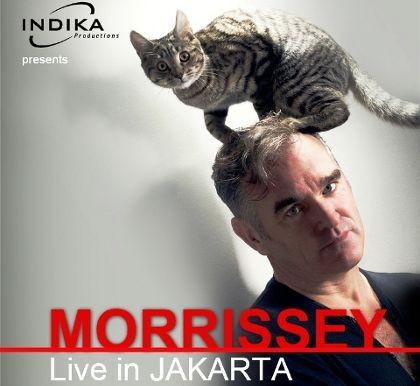 Konser di Jakarta, Morrissey Bawakan Lagu-lagu The Smiths?