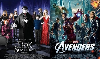 \Dark Shadows\ Belum Mampu Kalahkan \The Avengers\ di Box Office