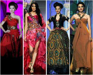 Pagelaran Teatrikal Raden Sirait Buka Acara Fashion di JFFF 2012