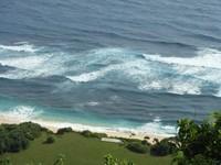Panorama Virgin Beach bila dilihat dari atas (dipity.com)