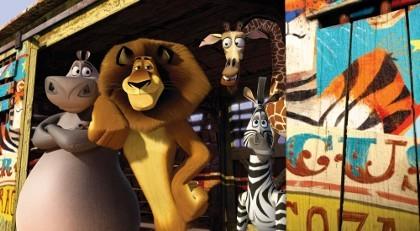 \Madagascar 3\ Meluncur ke Puncak Box Office