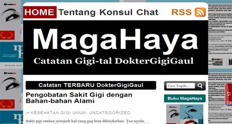Screenshot magahaya.com