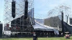 Bruuk! Panggung Konser Radiohead di Kanada Roboh, Satu Orang Tewas
