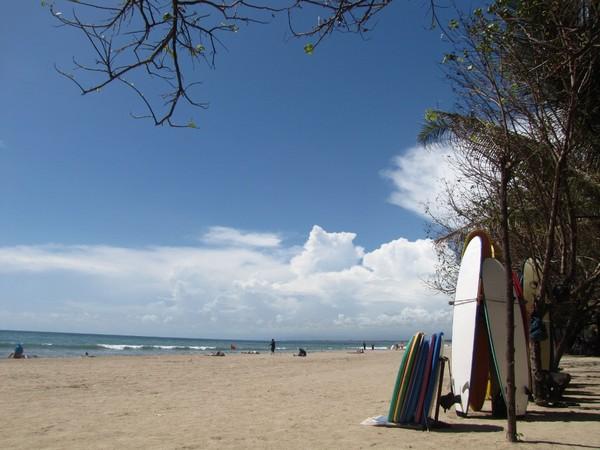 Suasana di Pantai Kuta (Fitraya/detikTravel)