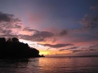 Sunset di Padang-padang (Fitraya/detikTravel)