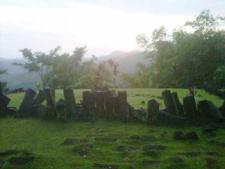 Gunung Padang di Cianjur Menyimpan Jejak Emas?