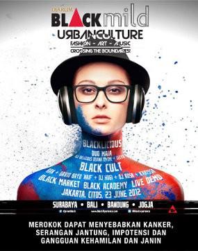 Fashion, Seni & Musik Melebur di \Black Mild Urban Culture\