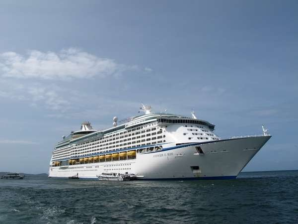Voyager of The Seas kapal pesiar terbesar di Asia (Vita/detikNews)
