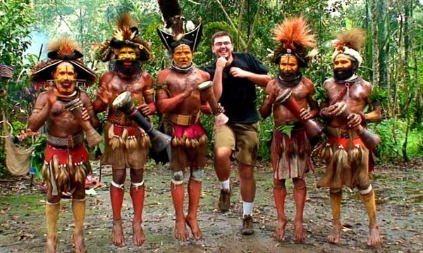 Matt di Papua Nugini (wherethehellismatt.com)