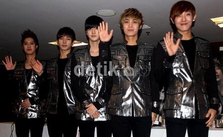 MBLAQ Sukses Hipnotis Ribuan Fans di Jakarta