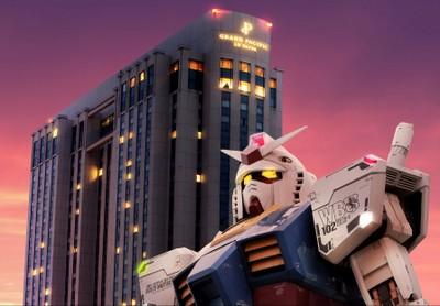 Keren! Di Tokyo Ada Hotel Robot Gundam