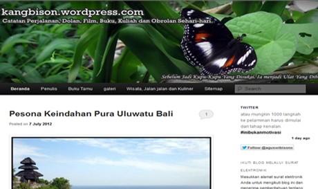 Screenshot kangbison.wordpress.com