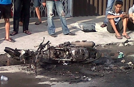 Pemuda Pancasila dan IPK Bentrok di Medan, 1 Motor Dibakar