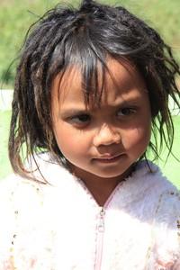 Rambut Gimbal anak-anak Asli Dieng