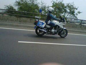 Motor Pomal Ganggu Pengendara di Tol