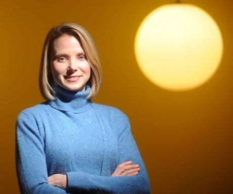 Marissa Mayer (Noah Berger/The New York Times)