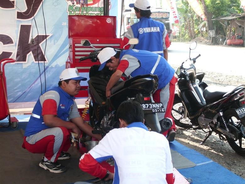 Bengkel Jaga Yamaha (dok. Yamaha)