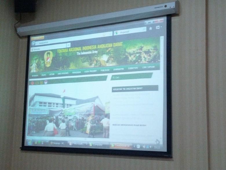 TNI AD Luncurkan Situs Resmi