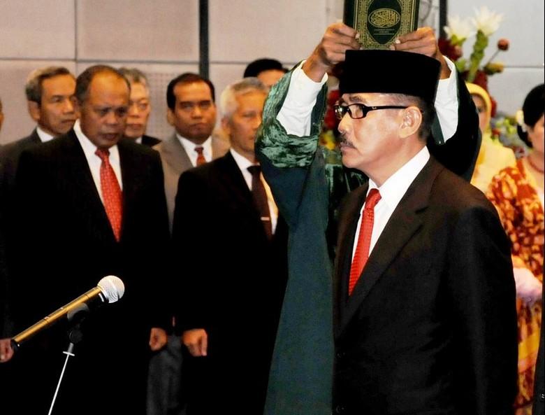 Mayjen TNI (Mar) M Alfan Baharudin Dilantik Jadi Kepala Basarnas