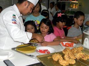 Cooking Class Untuk Anak Meriahkan Daycare Unilever 2012