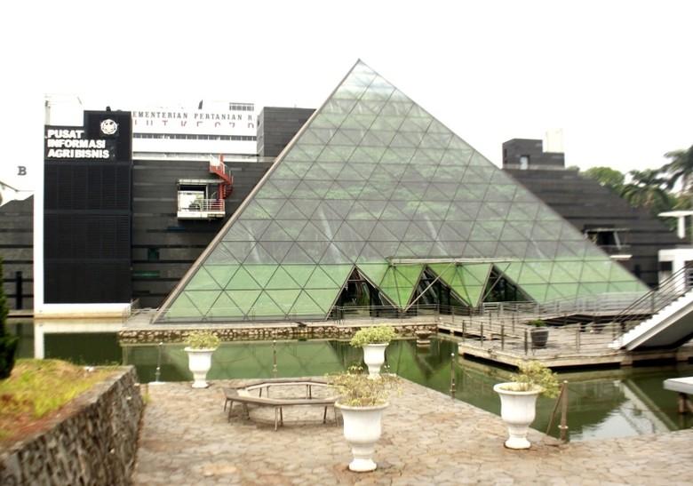 Gedung Pusat Informasi Agribisnis (Dicky Ardian/detikTravel)