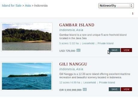 Pemerintah Harus Usut Penjualan Pulau Gambar dan Gili Nanggu