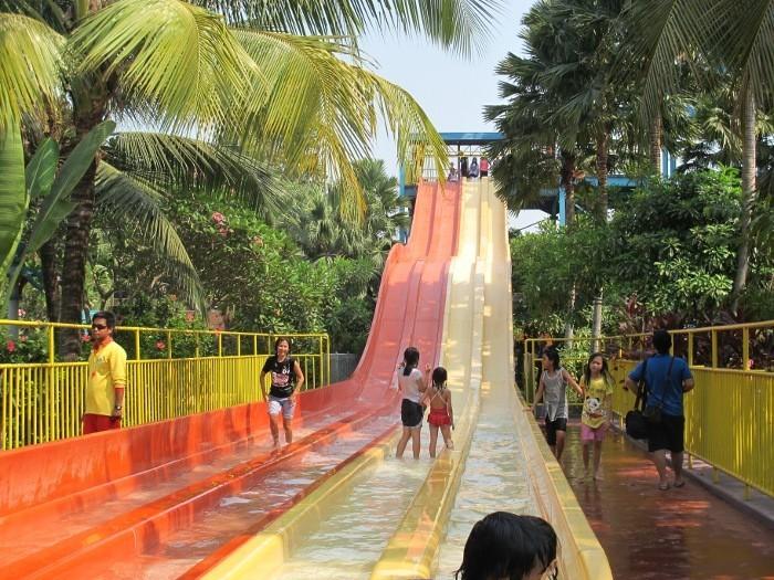 Water slide di Ocean Park (Sastri/ detikTravel)