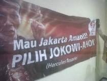 Nama & Foto Dicatut untuk Kampanye di Pilgub DKI, Hercules Lapor Polisi